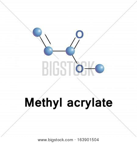 Methyl acrylate is an organic compound, the methyl ester of acrylic acid. It is used in production of fiber for synthetic. It is also a reagent in the synthesis of pharmaceutical intermediates.