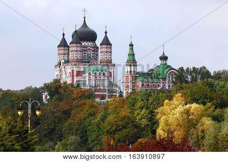 St. Panteleimon Cathedral in Feofaniya, Kyiv, Ukraine