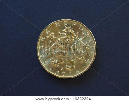 20 Koruna Coin, Czech Republic