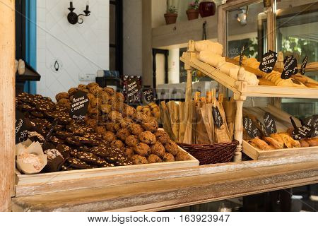 Many Sweets On The Counter Trading