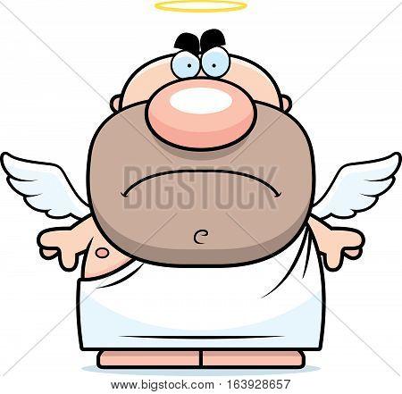 Mad Cartoon Angel
