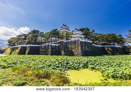 Shimabara Castle , Famous Attraction In Nagasaki Prefecture, Kyushu.