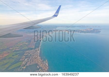 Alcudia Bay And Formentor