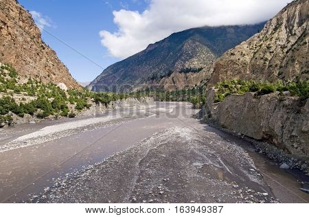 Kali Gandaki Gorge, Annapurna conservation area, Nepal