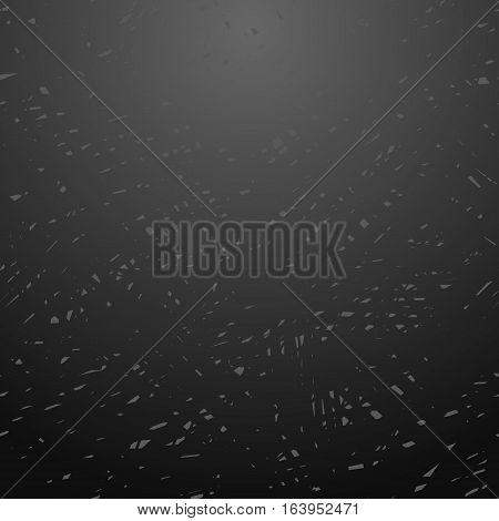 Black chalkboard background. School blackboard texture. Vector chalkboard background. For cards, banners, posters. Vector illustration stock vector.