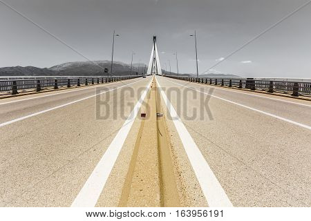 Road To Suspension Bridge