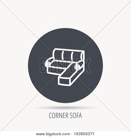 Corner Sofa Icon Vector Photo Free Trial Bigstock