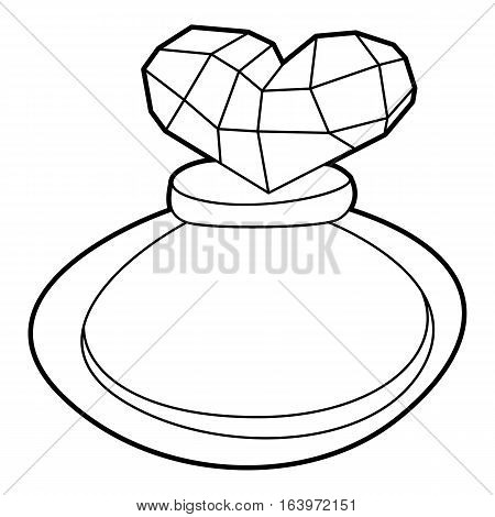 Perfume icon. Outline illustration of perfume vector icon for web