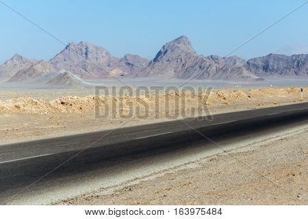 Rocky pomuntains of Yazd Province of Iran