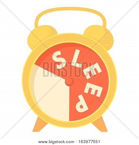 Time to sleep icon. Cartoon illustration of time to sleep vector icon for web