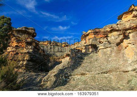 Gardens of Stone Cliff Face in NSW, Australia