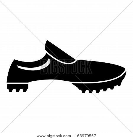 Men sneakers icon. Simple illustration of men sneakers vector icon for web