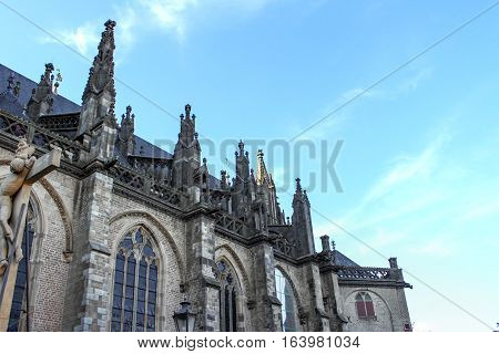 Photography of the Church of Xanten in Germany