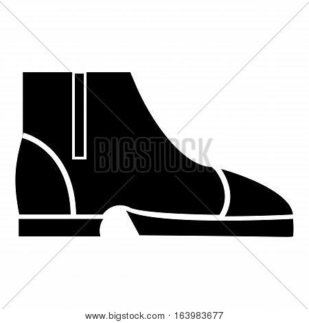 Men boots icon. Simple illustration of men boots vector icon for web