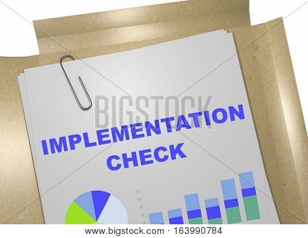 Implementation Check - Business Concept
