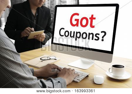 Got Coupons? advertise, advertisement, advertising, banner shop