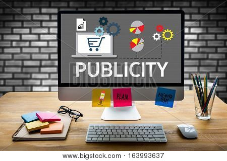 PUBLICITY Online Marketing Advertisement Social Media advertising