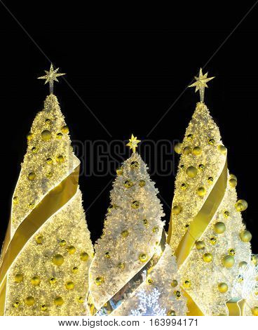 Christmas holiday festival and new year festival chritmas tree decoration