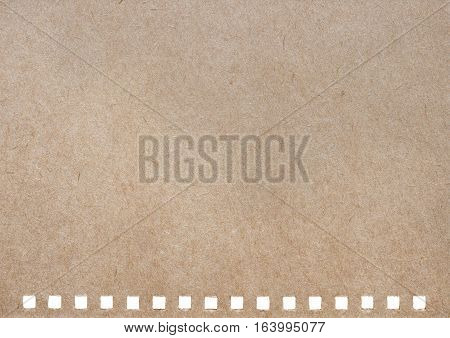 Brown paper background from a notebook cover
