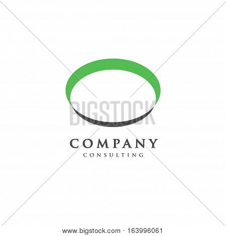 ellipse concept, abstract ellipse badge, blank button template , plate logo concept
