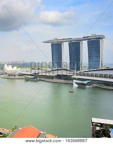 Marina Bay Overlooking, Singapore