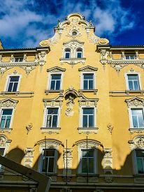Hdr View Of Bolzano
