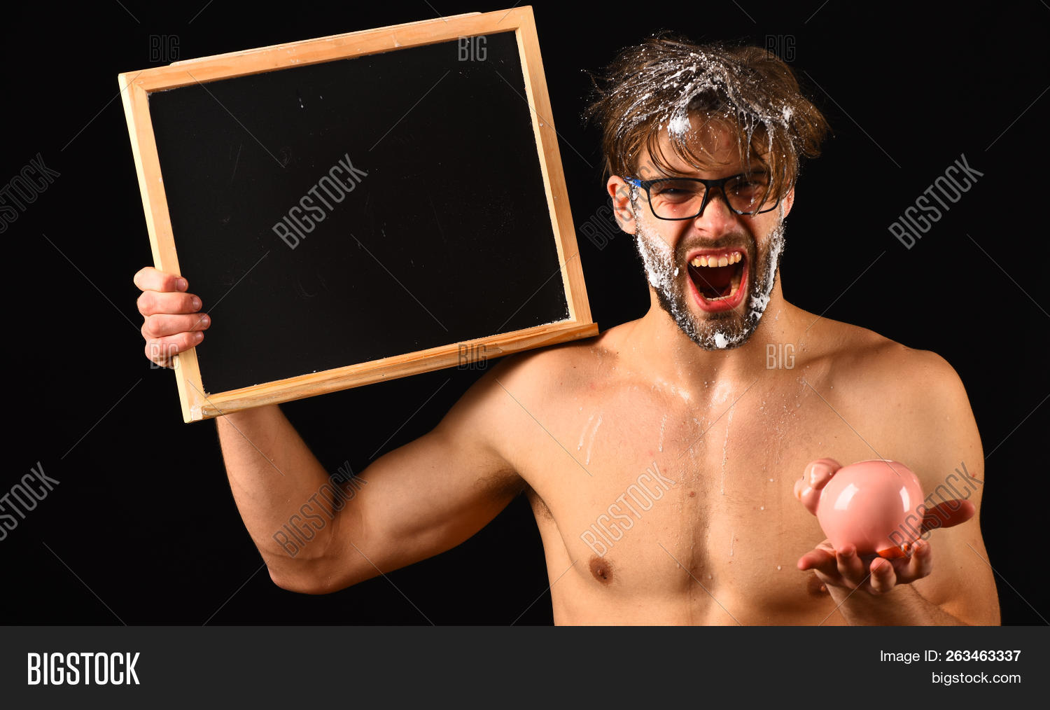 Men body show naked accept. opinion