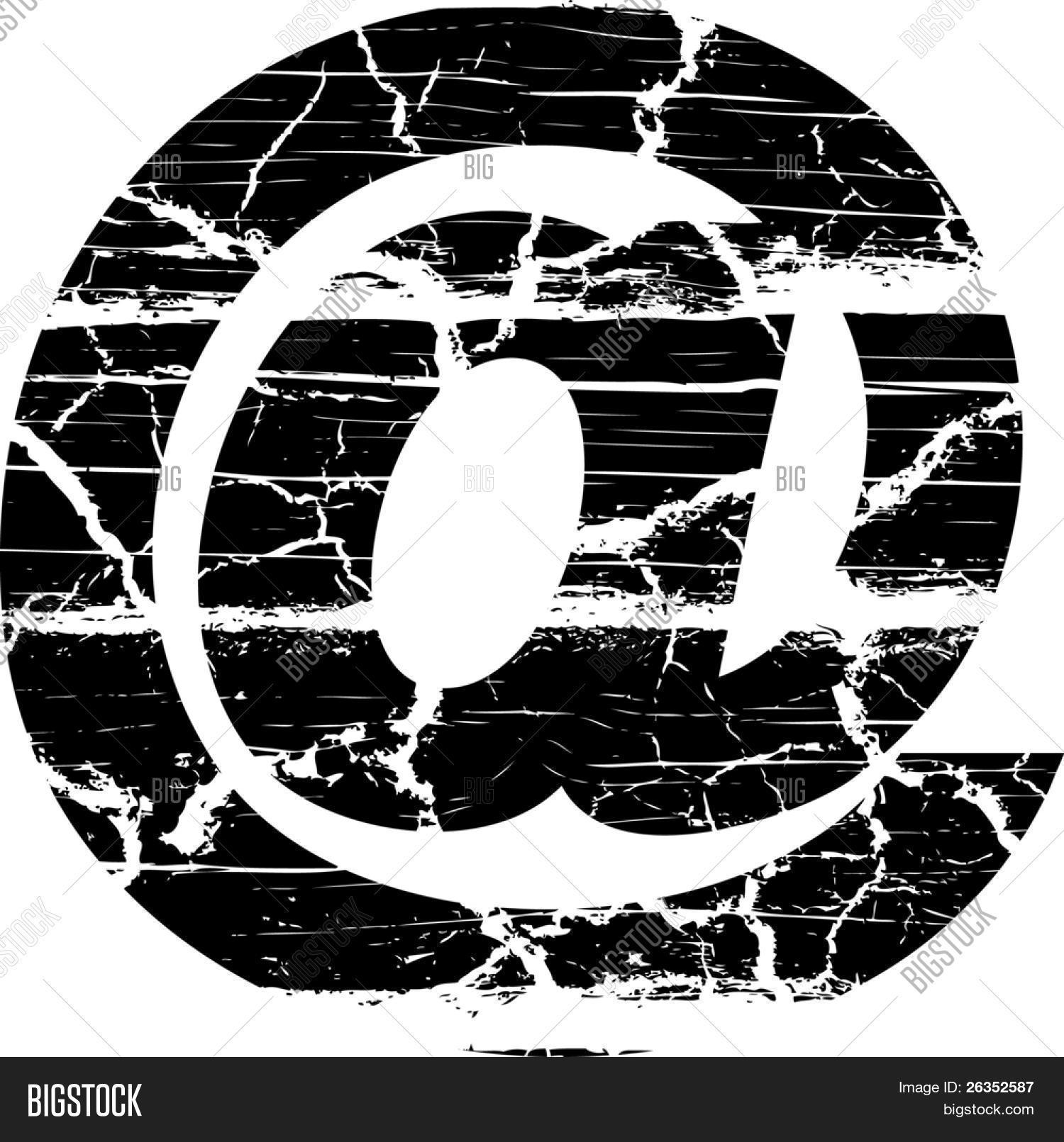 Cracked Symbol Vector Photo Free Trial Bigstock