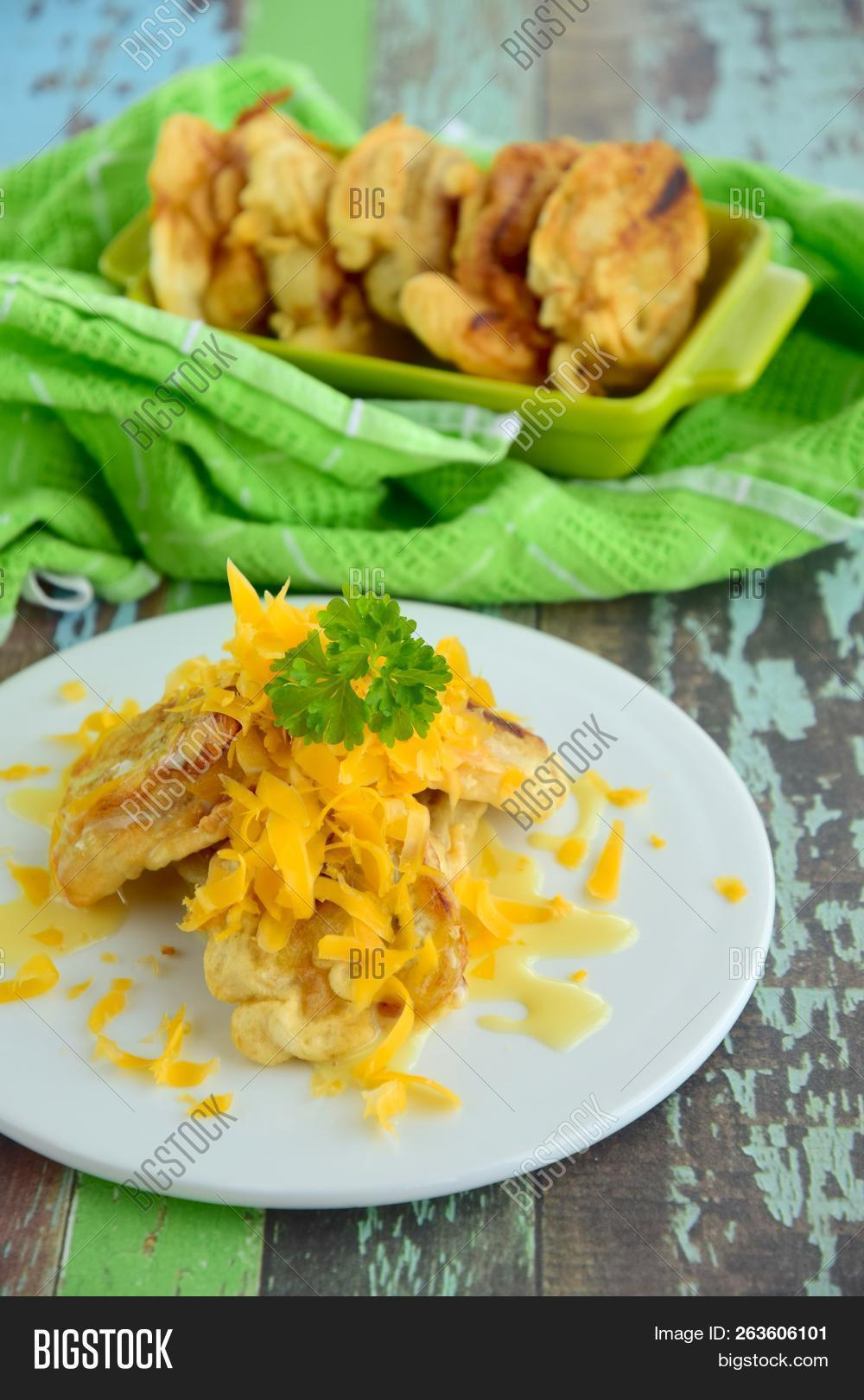 Pisang Goreng Keju Image Photo Free Trial Bigstock
