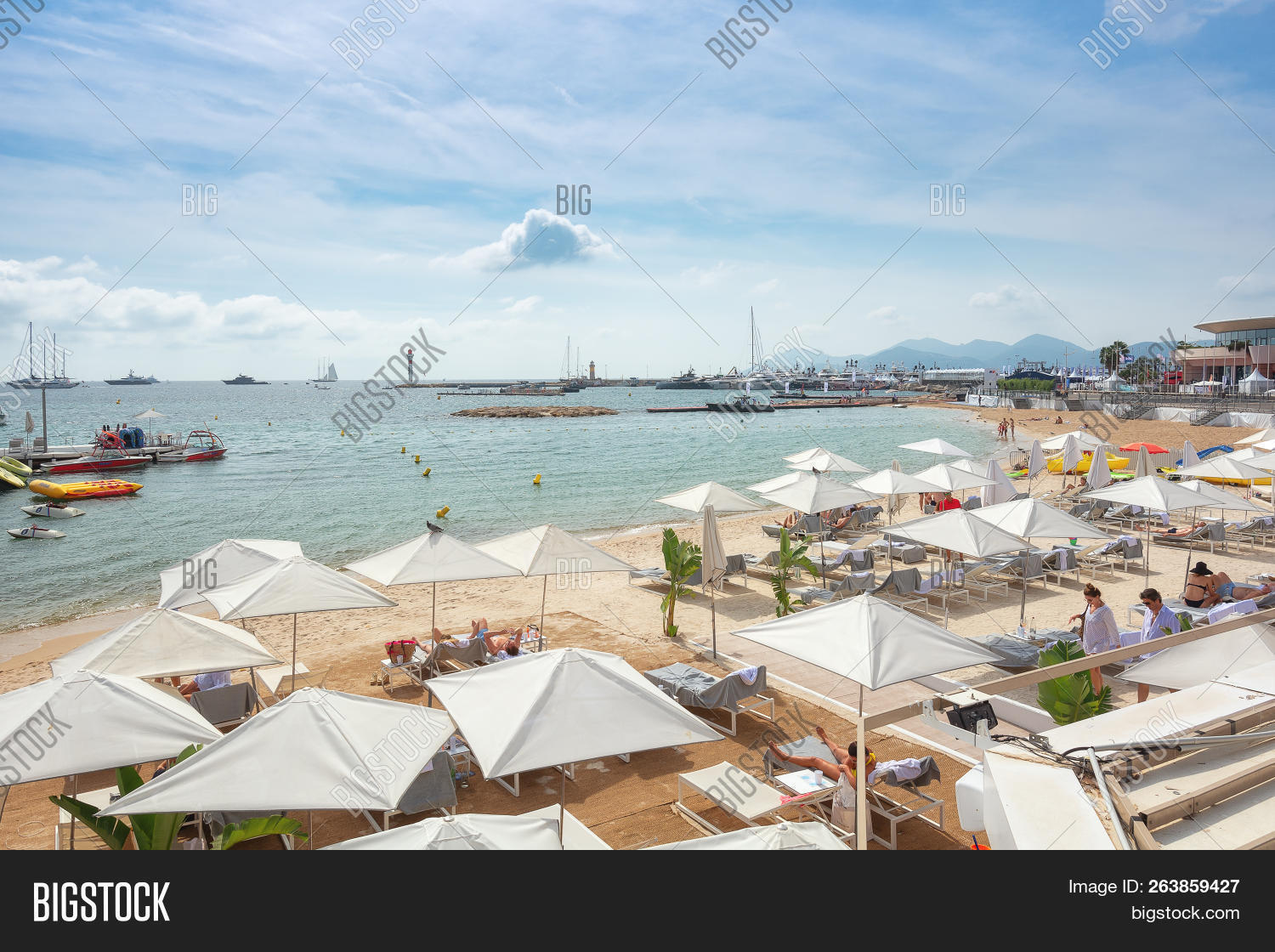 Cannes France Image Photo Free Trial Bigstock