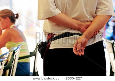 waitress service