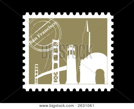 Stamp, San Francisco