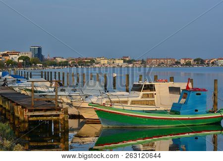 Morning View Of The Harbor, Grado, Italy