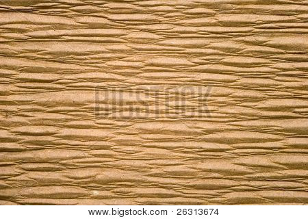 Background of wrinkled paper