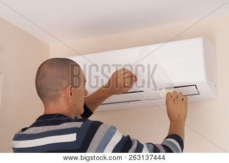 Installation Of Air Conditioner