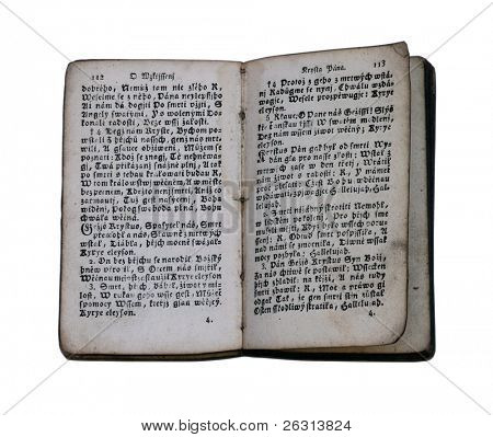 Very old religious book
