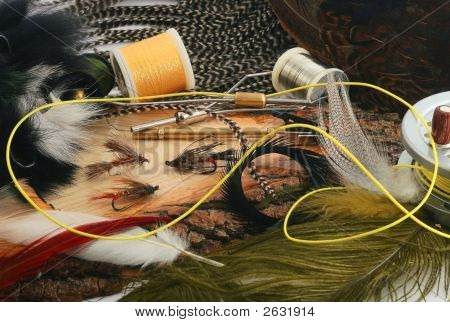 tying flys for fly fishing