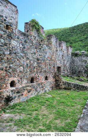 Historic Annaberg Plantation Walls
