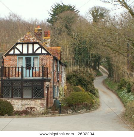Half-Timbered Country Cottage