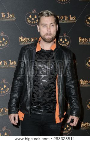 LOS ANGELES - OCT 10:  Lance Bass at the Nights Of The Jack Halloween Activation Launch Party at the King Gillette Ranch on October 10, 2018 in Calabasas, CA