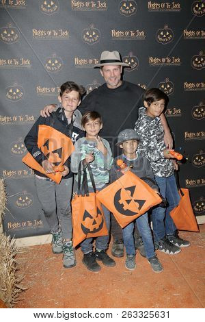 LOS ANGELES - OCT 10:  Greg Vaughan at the Nights Of The Jack Halloween Activation Launch Party at the King Gillette Ranch on October 10, 2018 in Calabasas, CA
