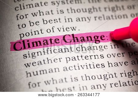 Fake Dictionary, Definition Of The Word Climate Change.