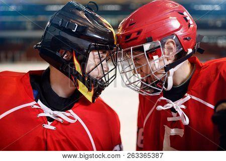 Ice Hockey - youth boys players