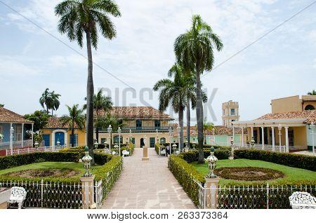 Plaza Mayor - Town Of Trinidad - Cuba