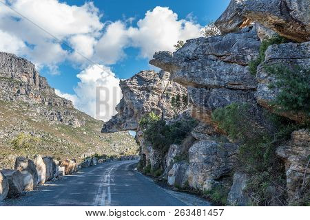 Dacres Pulpit In The Historic Bains Kloof Pass In The Western Cape Province