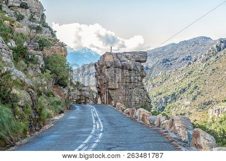 The Bell Rocks In The Historic Bains Kloof Pass In The Western Cape Province