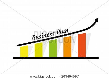 Business Growth Concept Illustration With Chart