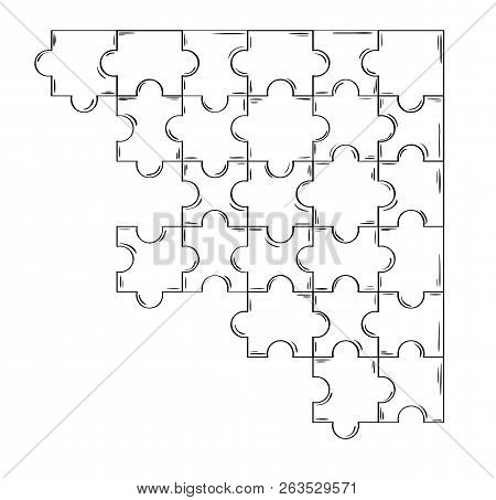 Connected Puzzle Pieces