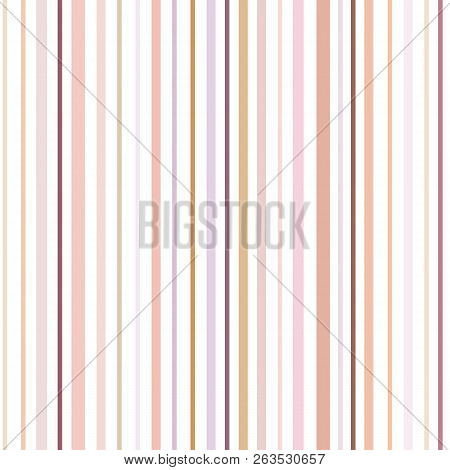 Color Stripes On White Background