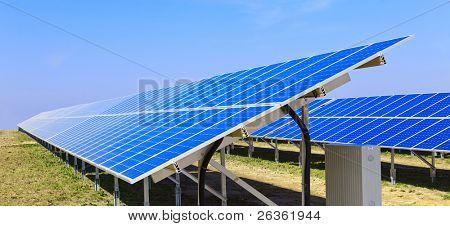 Photovoltaic solar power panel battery